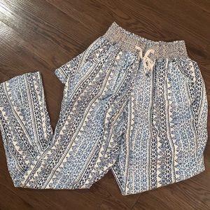 Cute boho pants